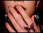 new year nail-art 2