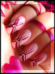 ribbons nails