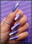 purple bands
