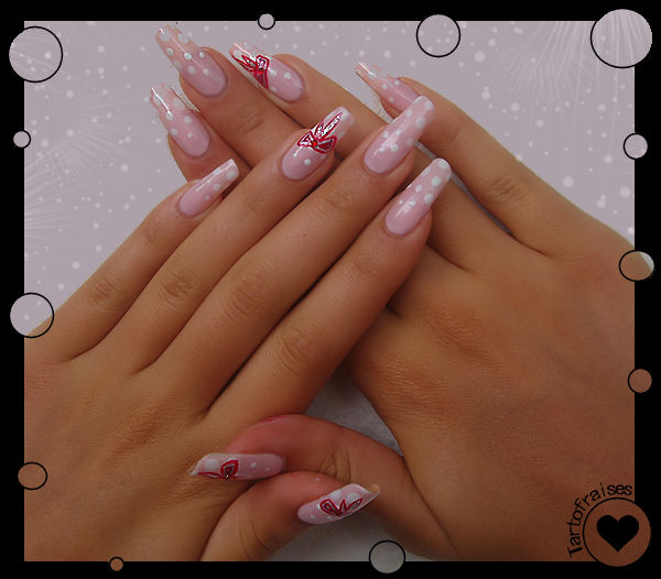 romantic nails 2 by Tartofraises