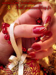 christmas red and gold 2