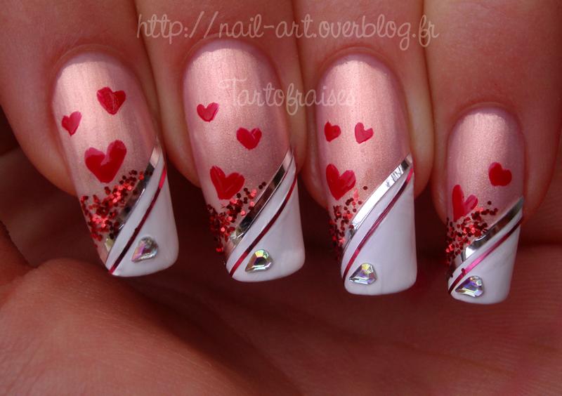 valentine's day nail art 5 by Tartofraises