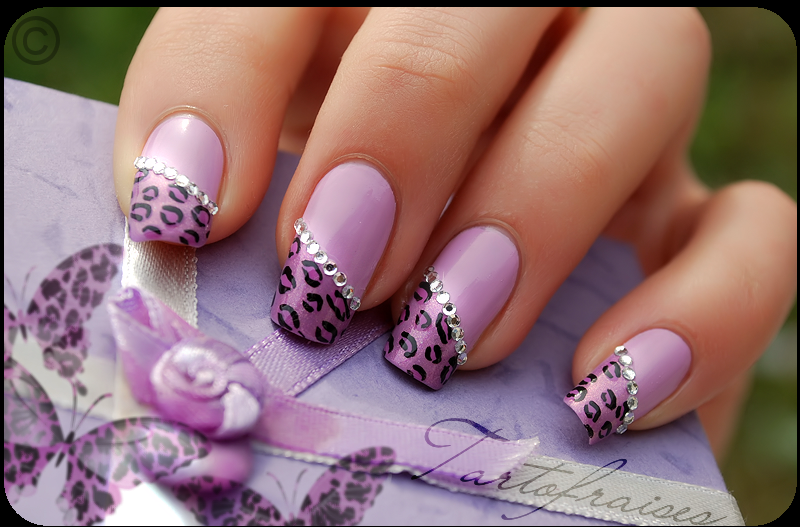purple leopard by Tartofraises
