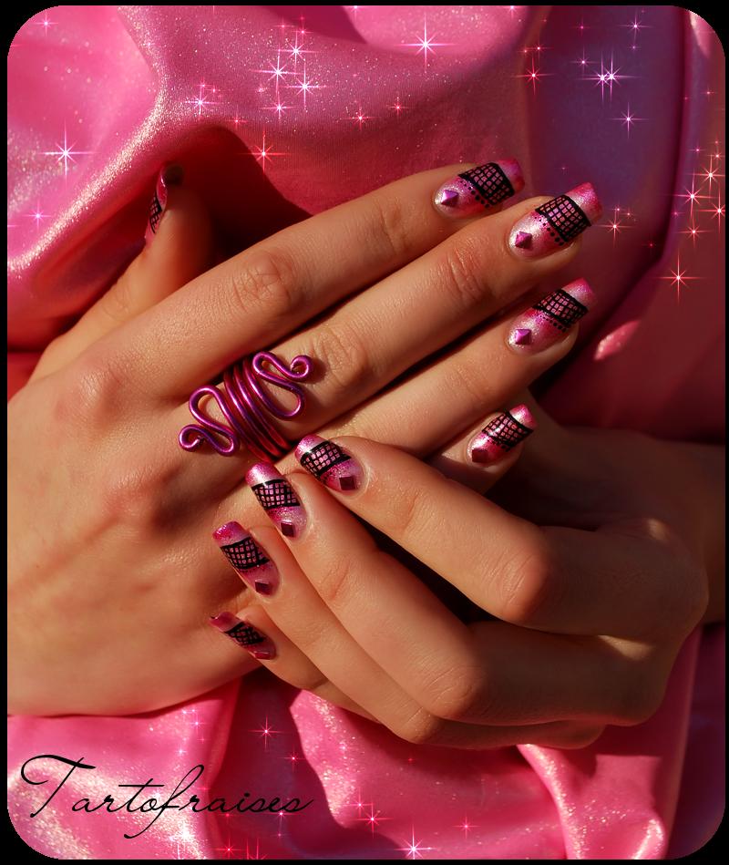 Nail Art Sweets By Tartofraises On Deviantart