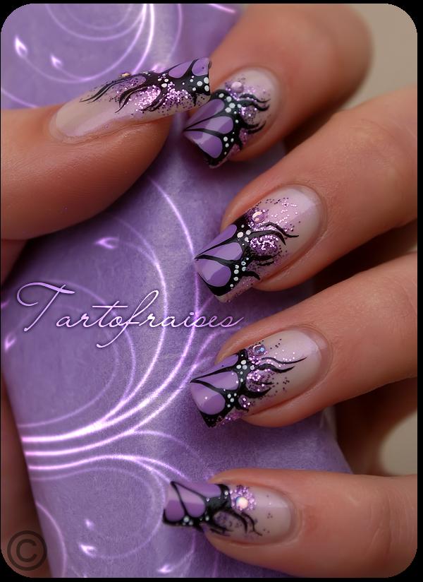 purple fire by Tartofraises