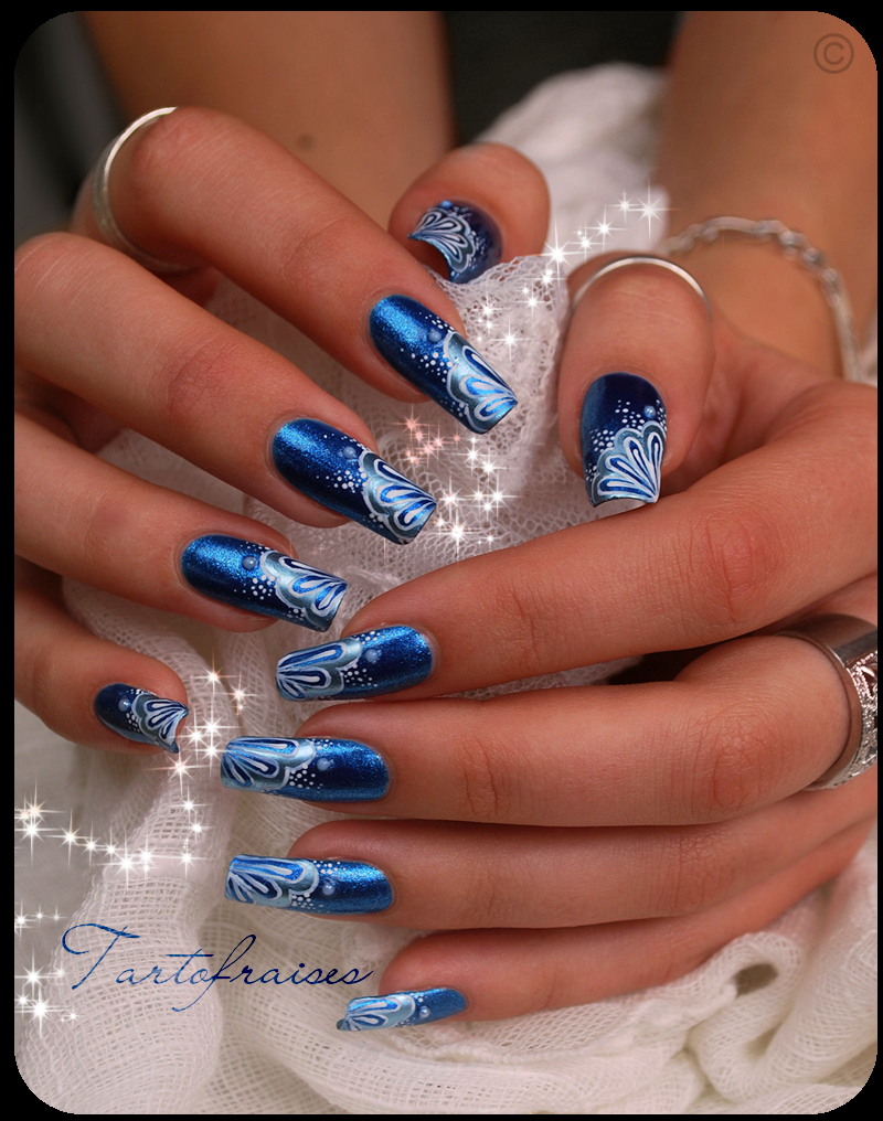 blue mermaid by Tartofraises