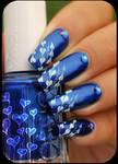 nail art hearts
