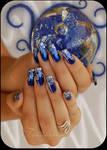 nail art cosmic