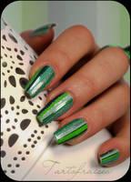 green stripes by Tartofraises