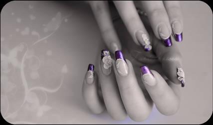 My firt 3d nail art