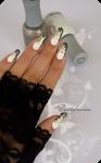 Glam rock nail art