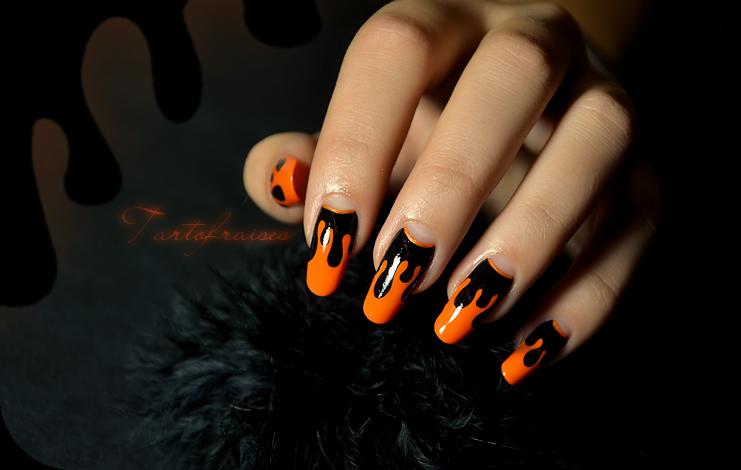 Halloween nails by tartofraises on deviantart halloween nails by tartofraises prinsesfo Choice Image