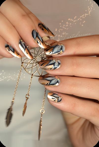 Real Art Design Group Inc : New year nails by tartofraises on deviantart