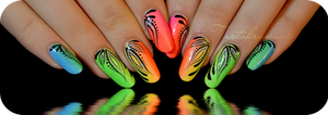 Miami beach Nail art