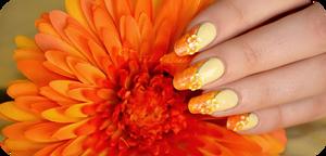 Sun marble nail