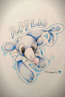 Popplio by Skewric
