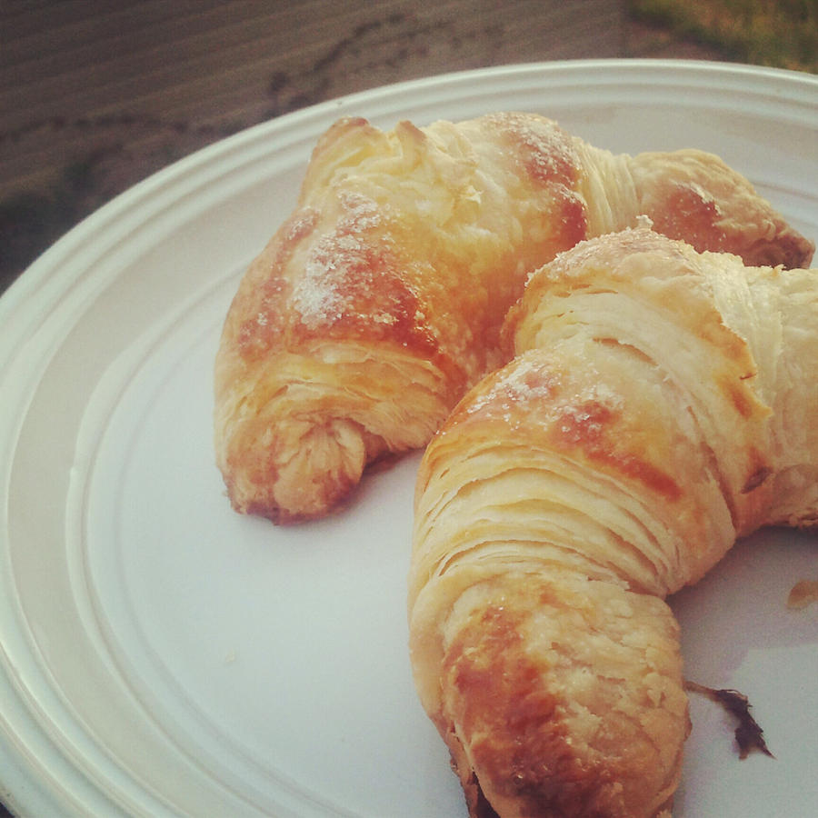 croissants. by sorekara