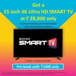 55 Inches 4K Ultra HD Smart TV