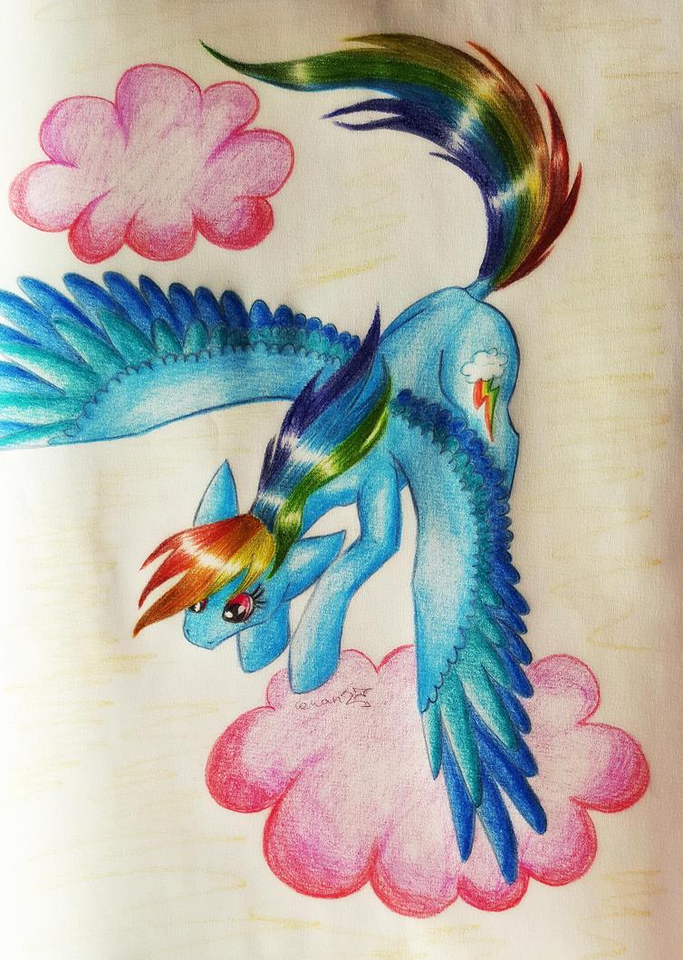 Rainbow Dash by Cahandariella