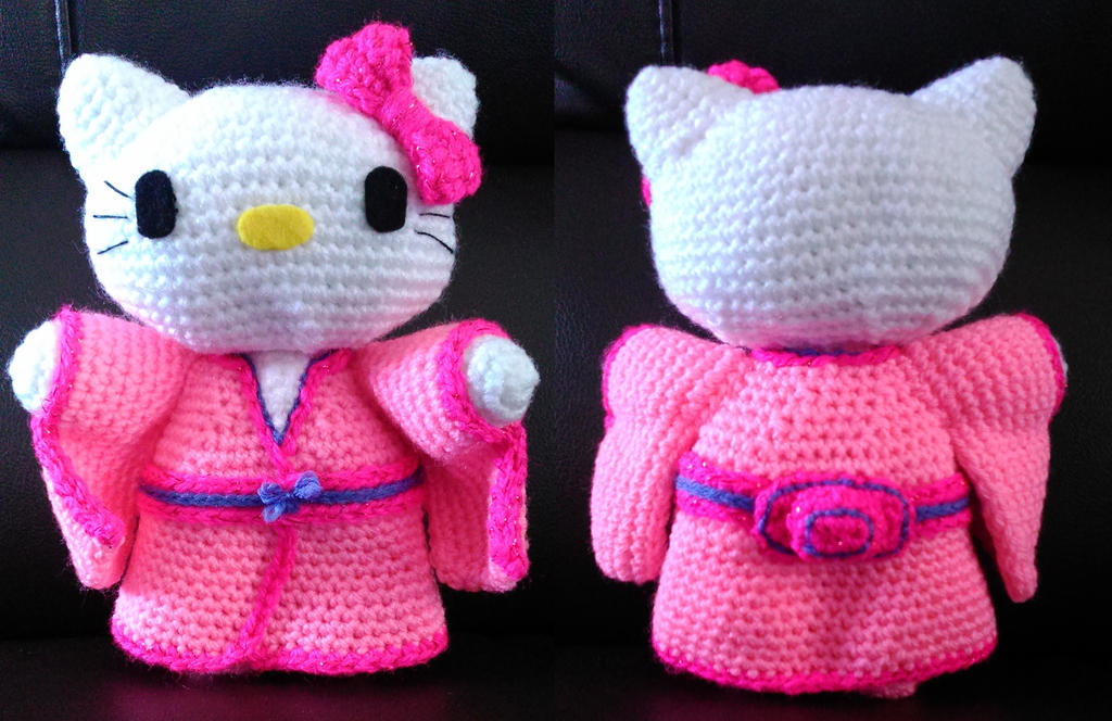 Hello kitty kimono amigurumi by Anaseed on DeviantArt