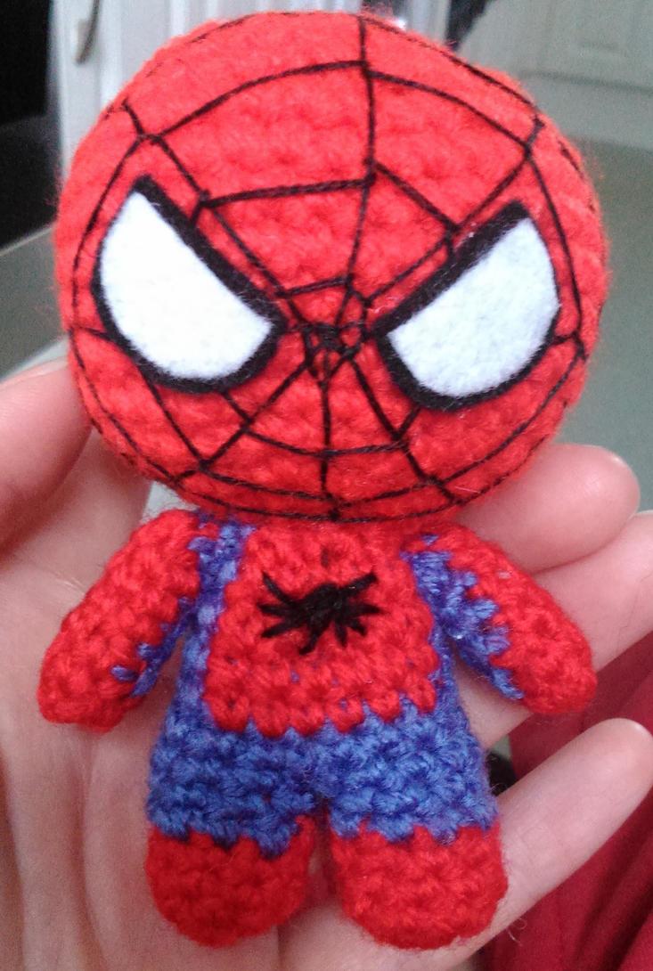 Spiderman amigurumi by Anaseed on DeviantArt
