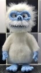 Abominable snowman bigfoot Amigurumi by Anaseed