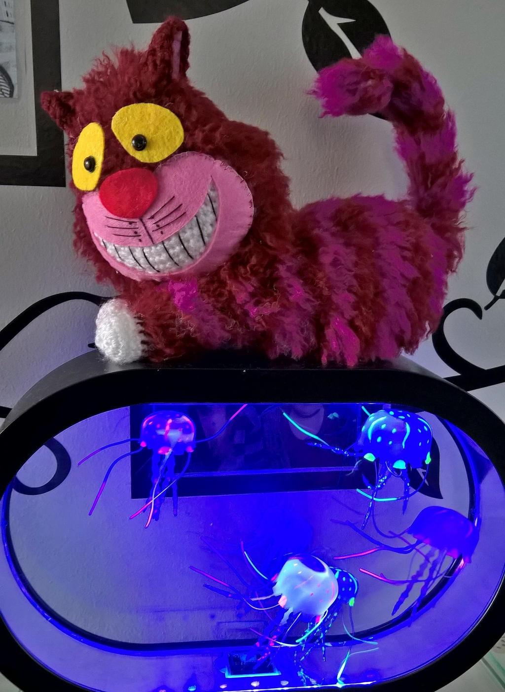 Cheshire Cat Amigurumi : Cheshire Cat Amigurumi by Anaseed on DeviantArt