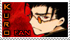 Kuro-Fan Stamp by Ethevian