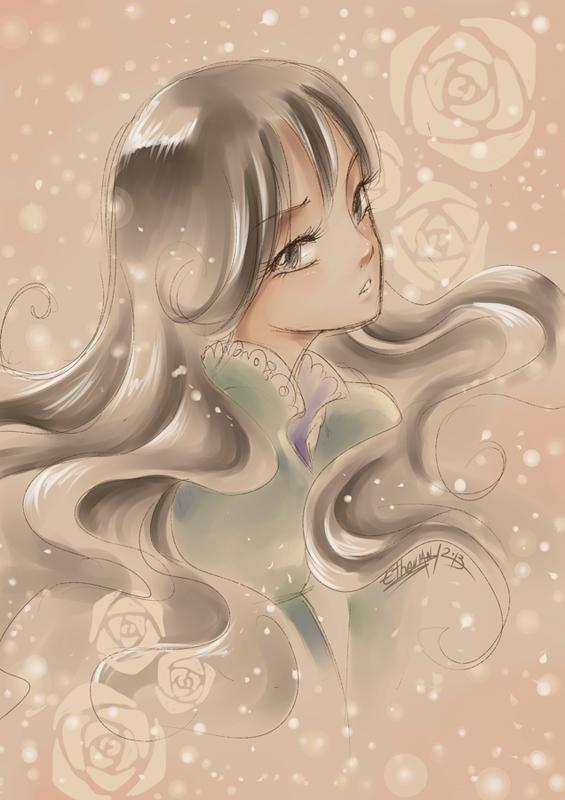 Shoujo style by Ethevian