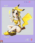 Pkmn Gijinka Project +Pikachu+