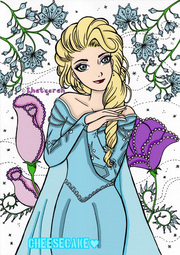 Elsa by CheeseCakePeach