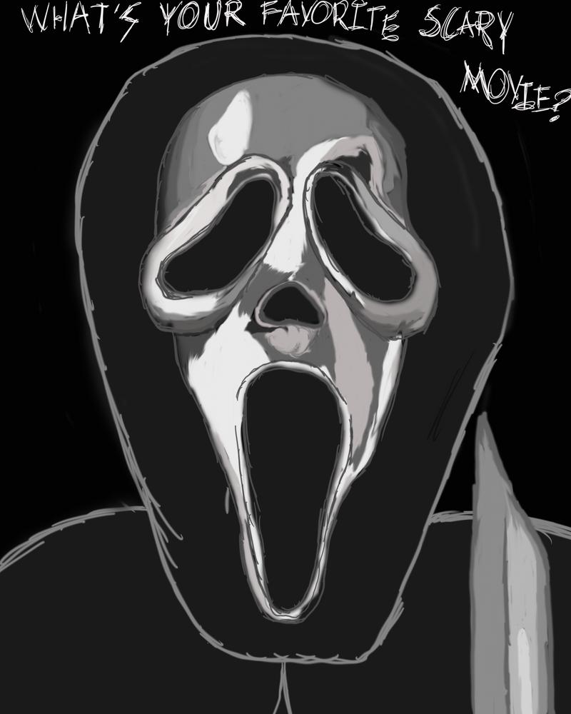 Ghostface by LoyalVampireKat16