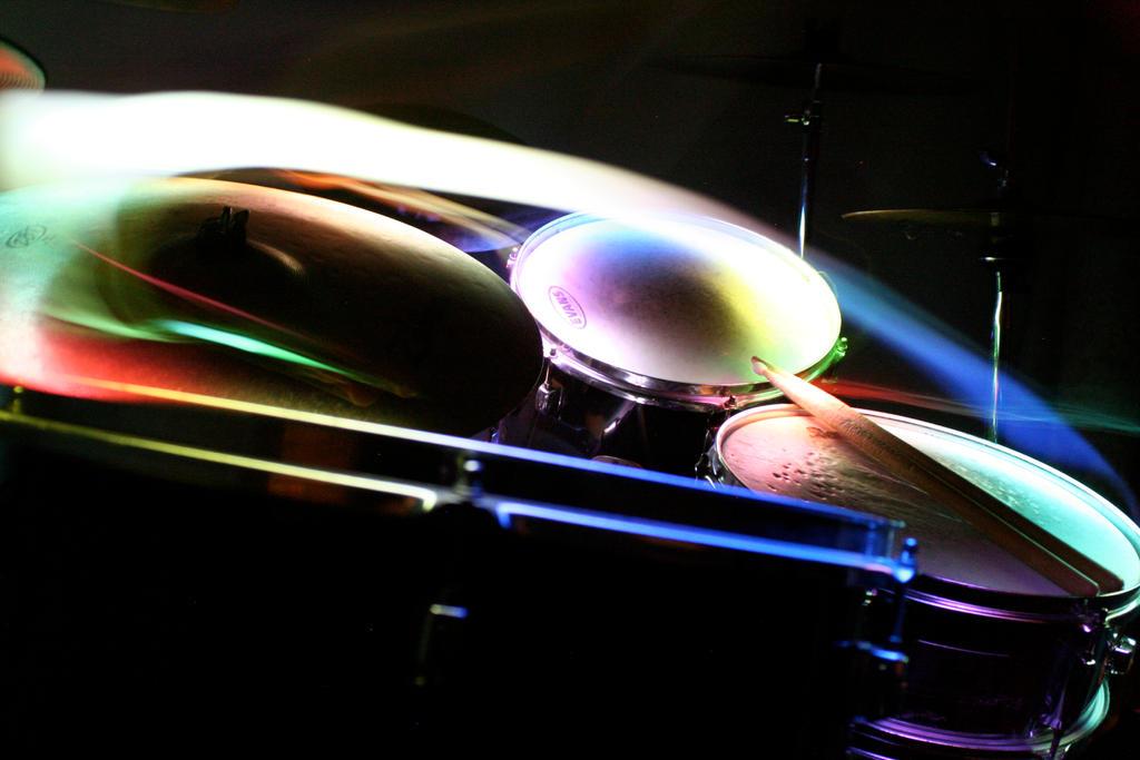 Drumset Night Shot