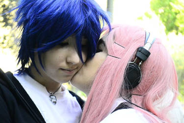 Kaito and Luka by Saii0806