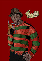 Freddy with new background