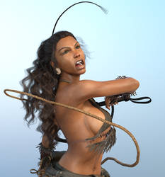 Jade Tribal Whips by Computica