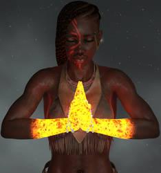 Ruby Tribal Pyro Focus by Computica