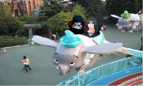 Itachi and Kisame in disney by uchihahaydee