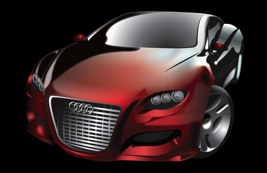 Audi Locus Concept Car Vector By Junon On DeviantArt - Audi car vector