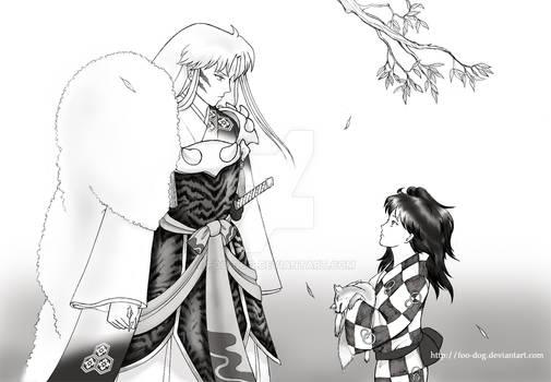 Sesshoumaru and Rin: A Plea