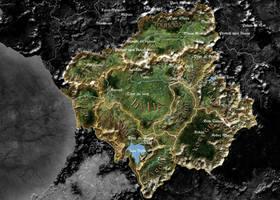 'Satellite' map by lordFelwynn
