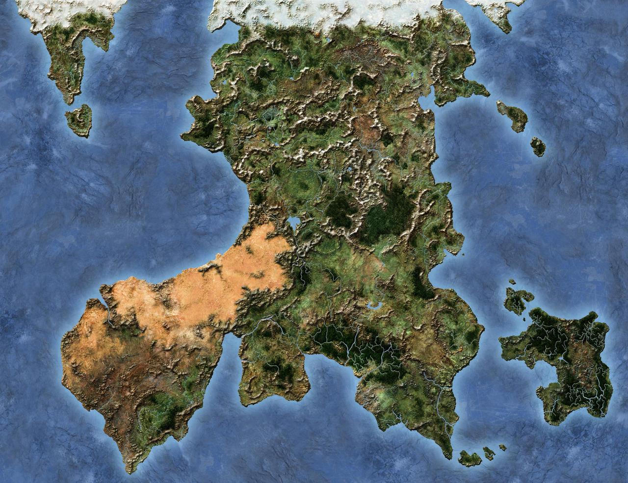 Satellite Map By LordFelwynn On DeviantArt - Digital satellite map