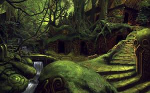 Ruins by lordFelwynn