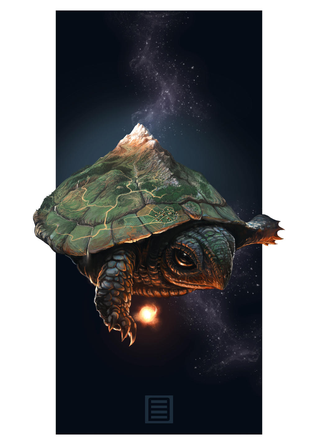 Celestial Turtle by lordFelwynn
