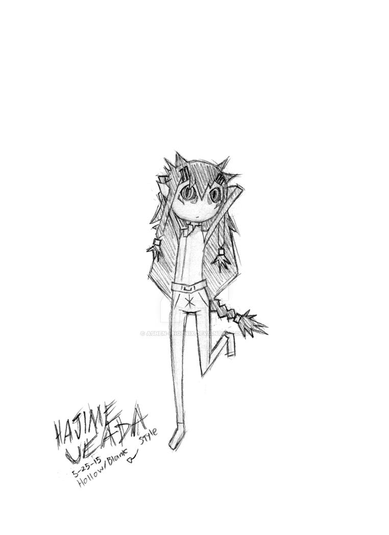 Style Meme 7 - Hajime Ueda by Ashen-Phoenix
