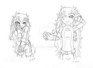 Monster Girl Sketches