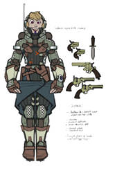 Space Gunslinger Armor