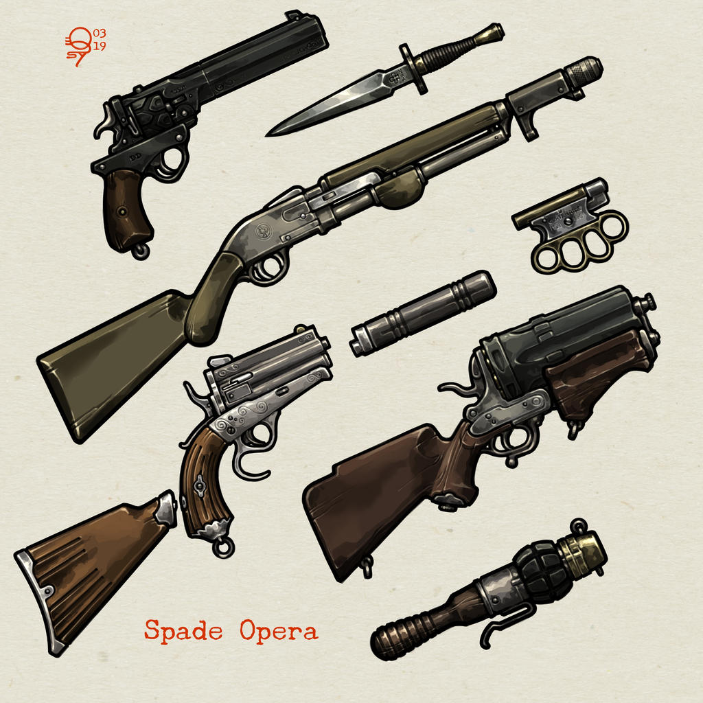 Occult Enforcer Weapon Pack