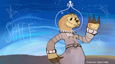 Sloth in space by clotus