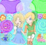 Zelda in Wonderland...